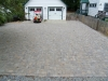 Finished View of Brick Paver Driveway