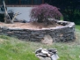 Dry Stack Rock Wall Landscaping