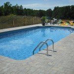 Brick Paver Patio Around Pool