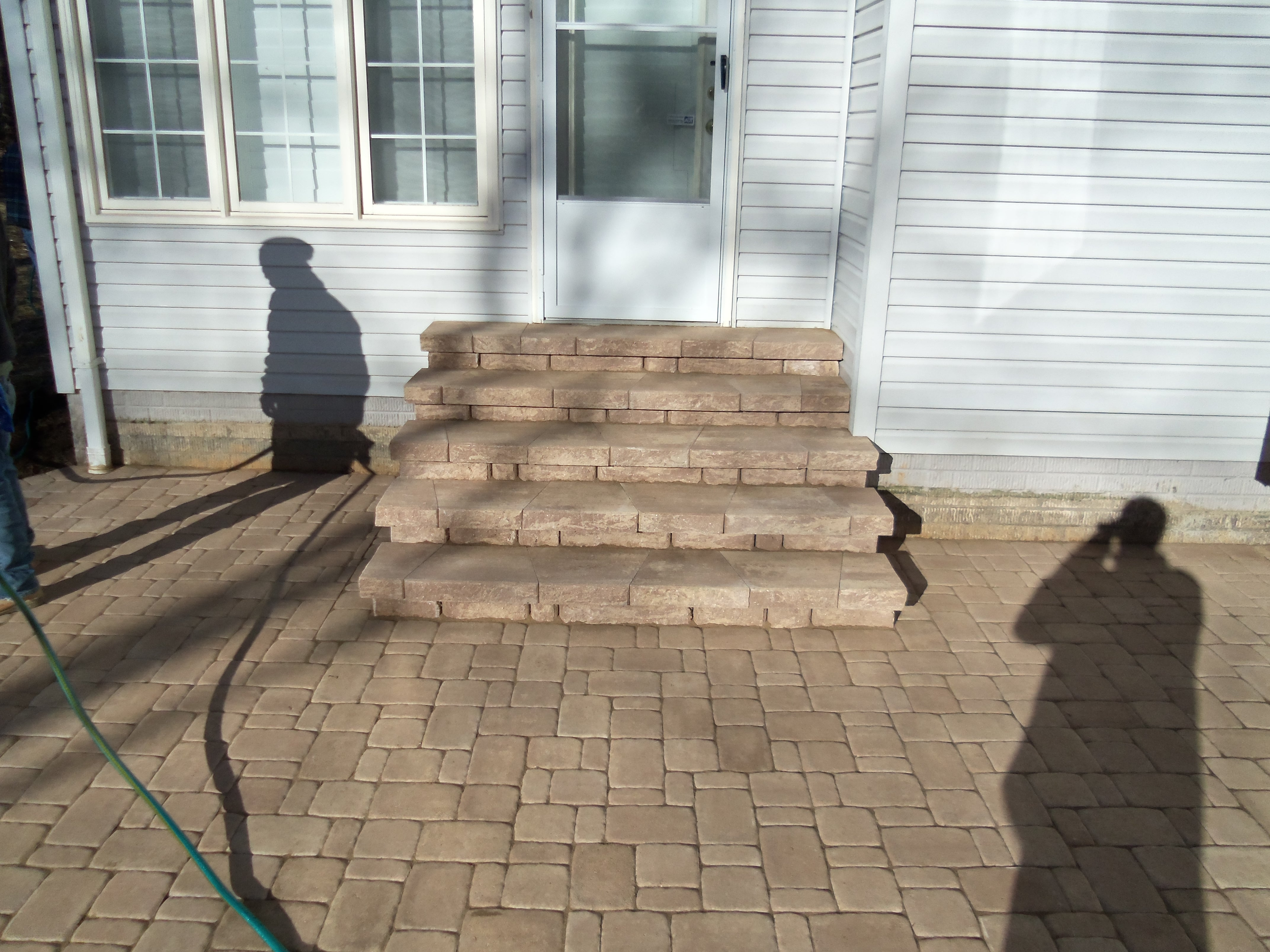 brick paver patio landscaping fredericksburg virginia
