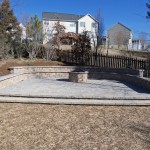 Brick Paver Patio and Firepit Landscaping