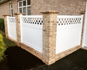 landscaping screened privacy virginia