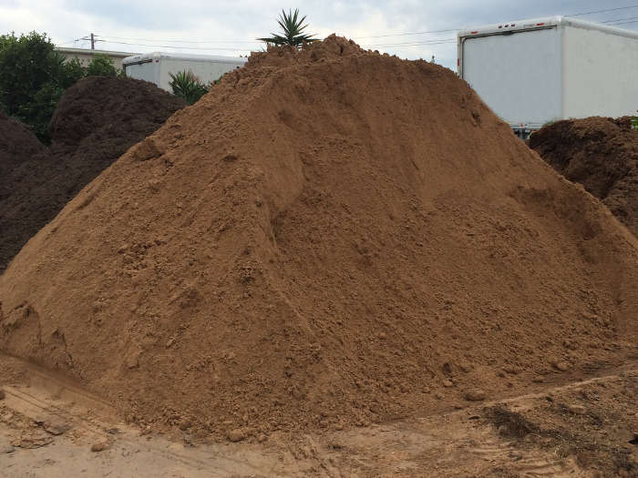 screened topsoil for delivery