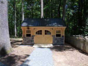 Custom Designed Amish Built Garden Shed